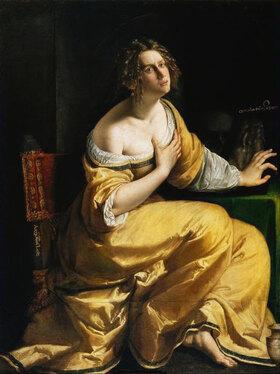 Artemisia Gentileschi: Die büßende Magdalena