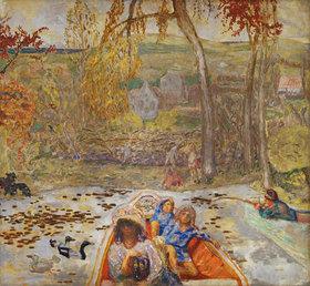Pierre Bonnard: En barque