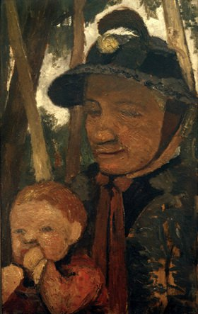 Paula Modersohn-Becker: Alte Frau mit Hut