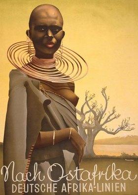 Nach Ostafrika / Deutsche Afrikalinien