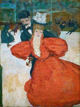 Pierre Bonnard: Palais des glaces, ou Les patineurs