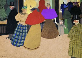 Felix Vallotton: Les Passants