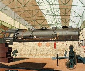 Carl Grossberg: Lokomotive / Henschel (unvollendet)