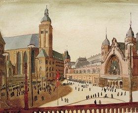 Carl Grossberg: Köln, Bahnhofsplatz
