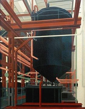 Carl Grossberg: Ölraffinerie