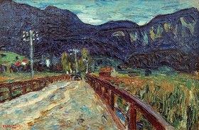 Wassily Kandinsky: Kochel, Die Brücke