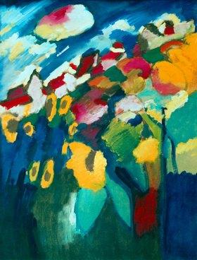Wassily Kandinsky: Murnau, Garten II