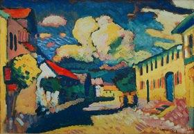 Wassily Kandinsky: Murnau, Dorfstraße