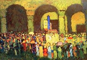Wassily Kandinsky: Ludwigskirche in München
