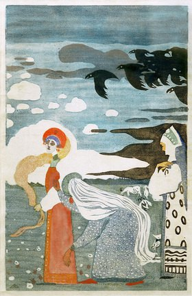 Wassily Kandinsky: Märchen: Die Raben