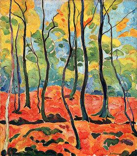 Heinrich Nauen: Herbstwald