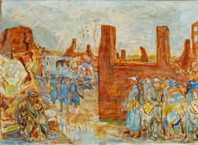 Pierre Bonnard: Village en ruine aux environs de Ham
