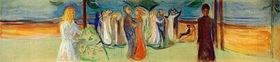 Edvard Munch: Tanz am Strand