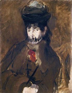 Edouard Manet: Berthe Morisot à la voilette