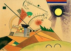 Wassily Kandinsky: Skizze zu: Bewegte Ruhe, 1923.Aquarell, Tusche auf Papier, 23,4 × 32,2 cm, Centre Georges Pompidou