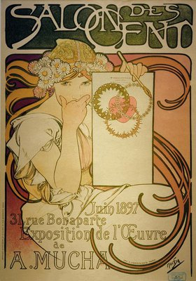 Alfons Mucha: Salon des Cent
