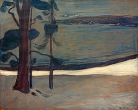 Edvard Munch: Vinter ved Nordstrand (Winter in Nordstrand)