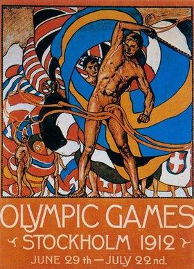 Olympische Spiele in Stockholm