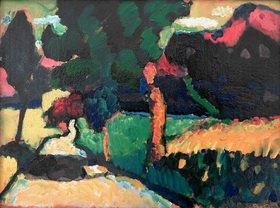 Wassily Kandinsky: Murnau, Sommerlandschaft