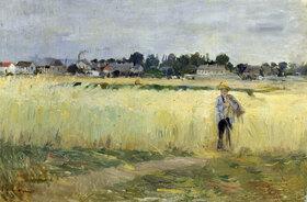 Berthe Morisot: In den Kornfeldern bei Gennevilliers