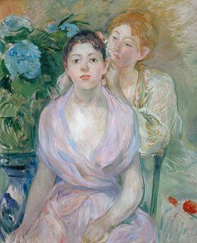 Berthe Morisot: Die Hortensie oder Die beiden Schwestern