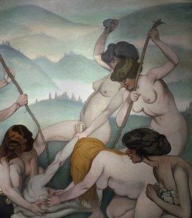 Felix Vallotton: Orpheus wird von den Mänaden zerrissen