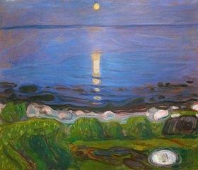 Edvard Munch: Eine Sommernacht am Strand