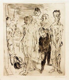 Max Beckmann: Musterung