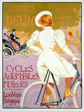 Usines Delin Cycles / Plakat