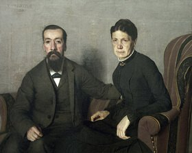 Felix Vallotton: Bildnis der Eltern des Künstlers