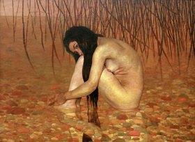Felix Vallotton: Woman bathing
