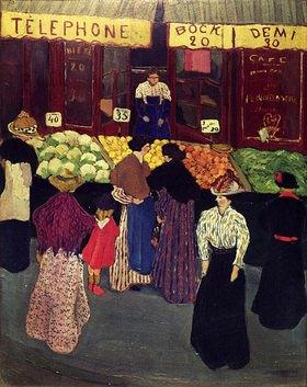 Felix Vallotton: Auf dem Markt