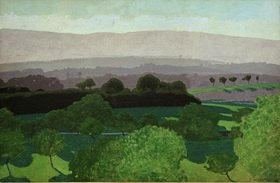 Felix Vallotton: Landschaft bei Romanel, Waadt