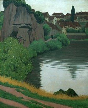 Felix Vallotton: Landscape near Semur