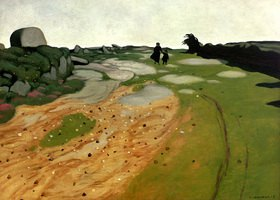 Felix Vallotton: Bretonische Heidelandschaft