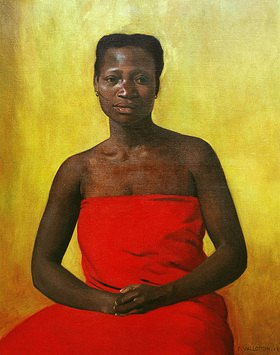Felix Vallotton: Sitzende Afrikanerin