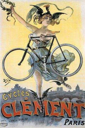 PAL: Werbung für Clement-Fahrrad