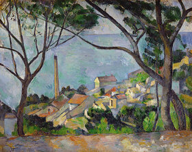 Paul Cézanne: La mer à l'Estaque? (Das Meer bei L'Estaque)