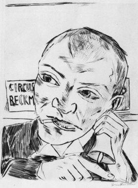 Max Beckmann: Der Ausrufer (Selbstbildnis)