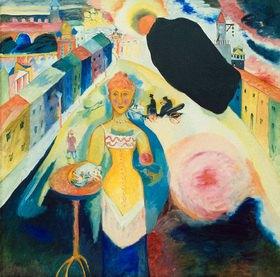 Wassily Kandinsky: Dame in Moskau