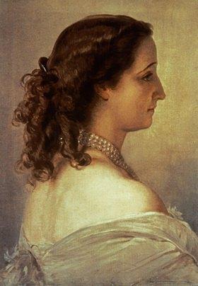 Franz Xaver Winterhalter: Eugenie, Kaiserin der Franzosen, (Napoleon III.)
