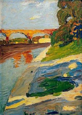 Wassily Kandinsky: München, Die Isar