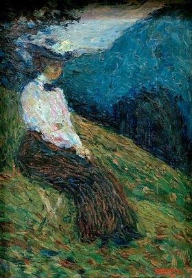 Wassily Kandinsky: Kochel, Gabriele Münter