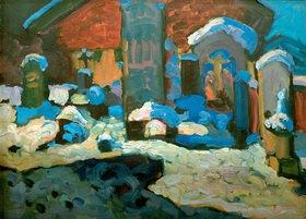 Wassily Kandinsky: Kochel, Friedhof