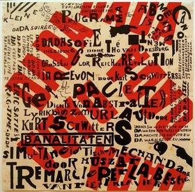 Kurt Schwitters: Dada-Soirée Poster