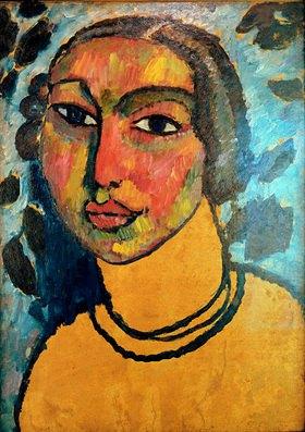 Alexej von Jawlensky: Das jüdische Mädchen