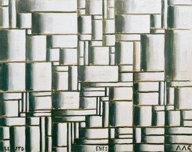 Joaquin Torres-Garcia: Konstruktion in Weiß und Schwarz