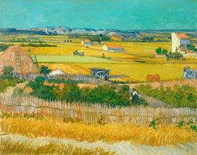 Vincent van Gogh: Die Ernte, 1888