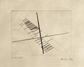 László Moholy-Nagy: Sich schneidende Diagonalen