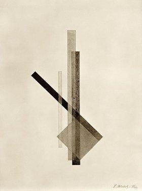 László Moholy-Nagy: Konstruktionen. 6. Kestner-Mappe